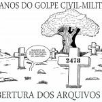 """A CHARGE PELO """"ANIVERSÁRIO"""" DO GOLPE"""
