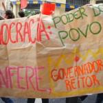 A AULA DE DEMOCRACIA DOS ESTUDANTES DA USP