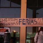 Manifestantes contrários à EBSERH paralisam reitoria da FURG