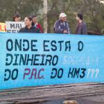 """Manifestação na Estação dos Ventos: """"nós estamos ilhados dentro da comunidade"""""""